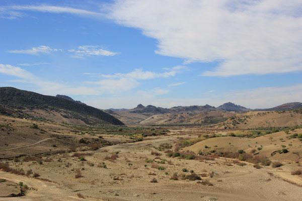 Weiterfahrt Richtung Souk El Had des Zoulad Zbeir