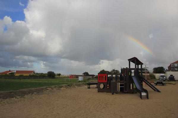 Regenbogen Friedrichskoog
