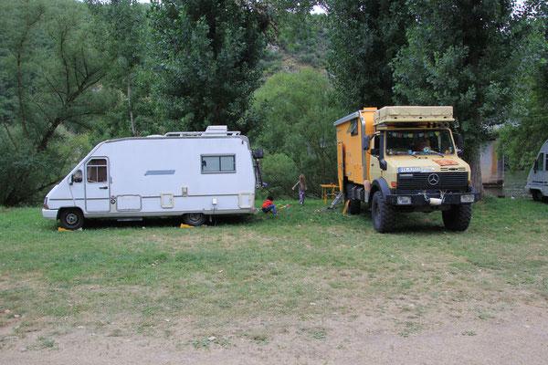 Camping Muncipal Val Lot, Nähe Cahor
