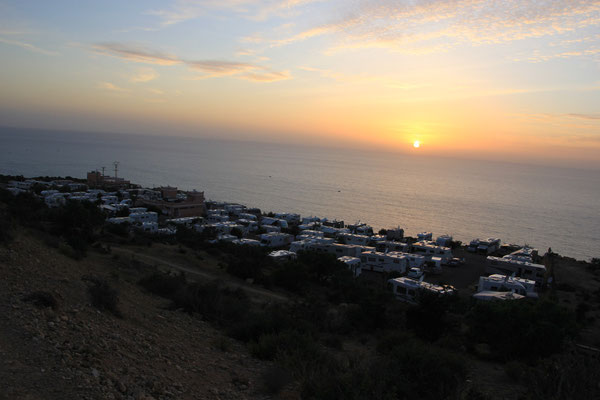 Abendstimmung Camping terre de ocean