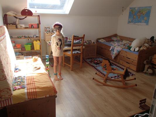 erstes Zimmer das fertig ist