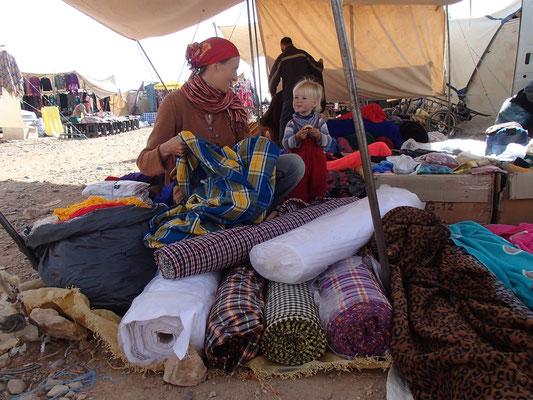 im Tuchparadies, Markt Tinjedad