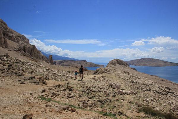 Wanderung Insel Pag