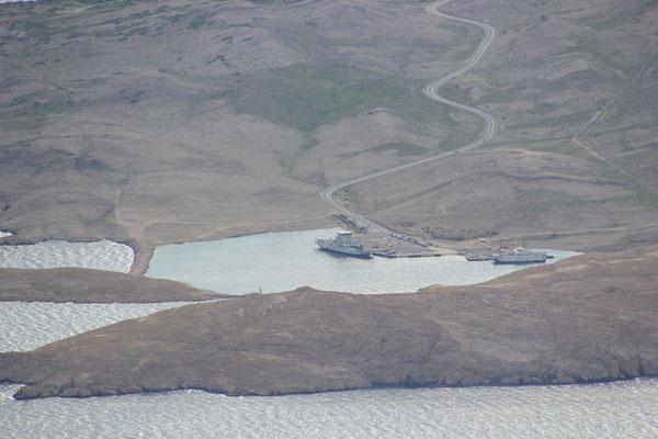 Fährhafen zur Insel Rab
