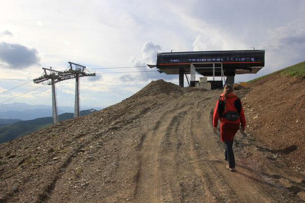 Skibergstation nähe Standplatz
