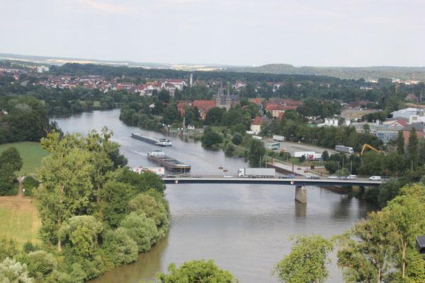 Neckarblick Bad Wimpfen