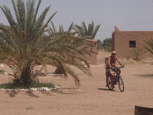 Fahrradfahren im Kreis