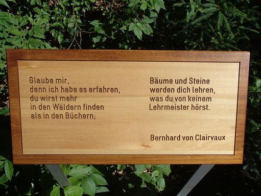 Weisheit von unserem alten Bekannten Bernhard von Clairvaux