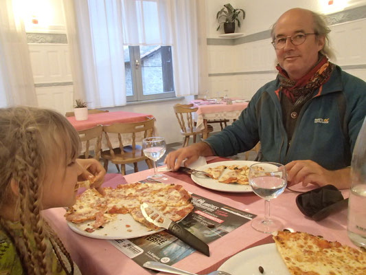 lecker Pizza in La Chaisse Dieux