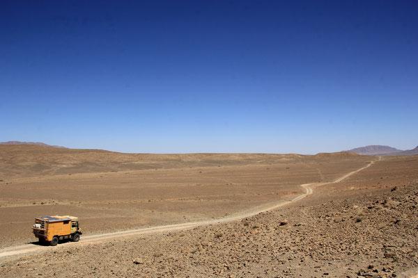 weiter Richtung Beni Tajite, R 601