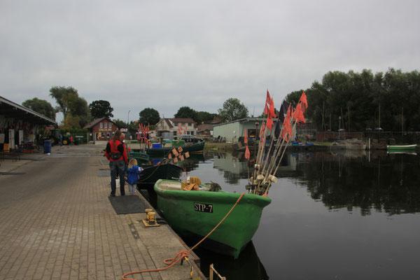 Hafen von Stepnike, Stettiner Haff