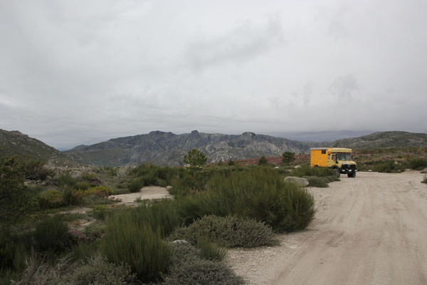 Standplatz am morgen, 1700 m, Sierra Estrella