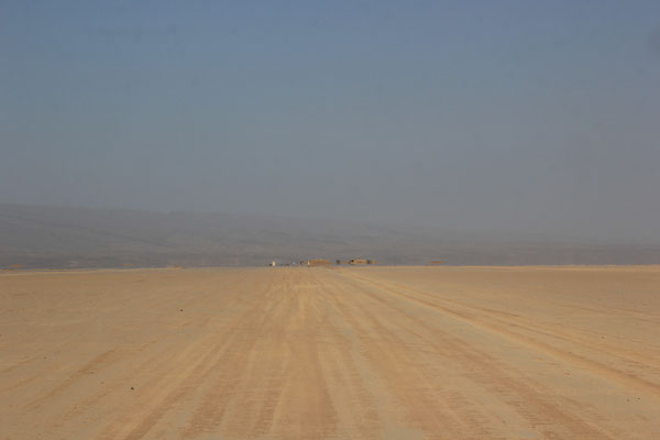 1. Etappe Lac Iriki, Foum-Zguid  -  Mhamid