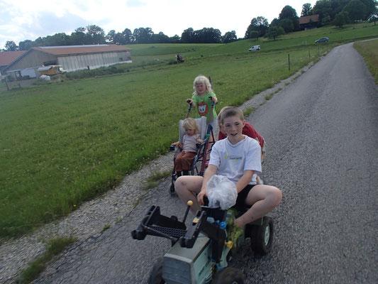 Kinder vom Bauernhof
