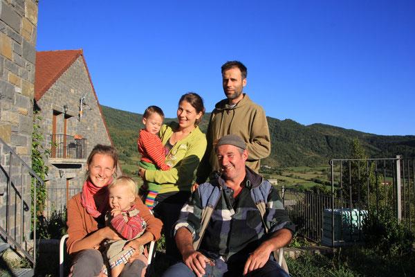 Besuch bei Therese,Alvarao und Otto