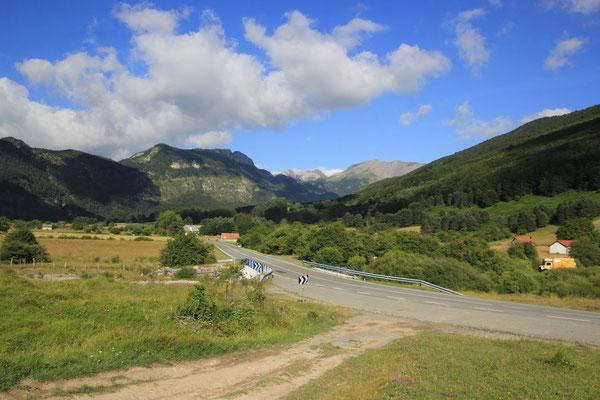 Standplatz Val Belagua, Pyrenäen