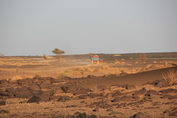"2. Standplatz ""Foum-Zguid Runde"", Rallystrecke Paris-Dakar"