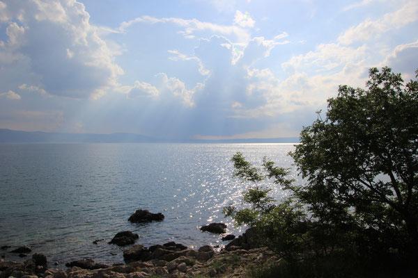 1. Standplatz am Meer mit eigener Bucht