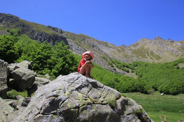 Sarah im Bergparadies