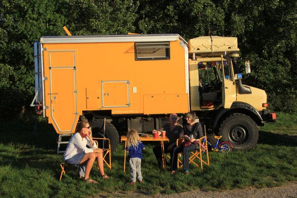 Familientreffen am Rhein