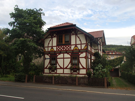 renoviertes Haus in Meiningen