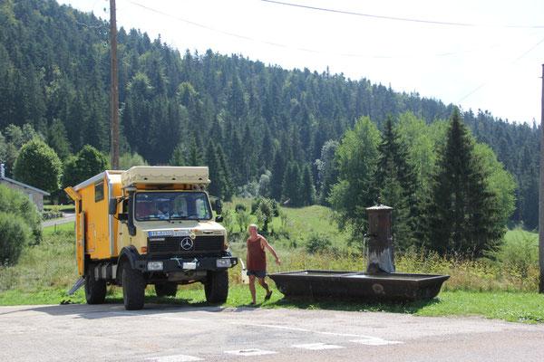 Wassertanken Haute Jura