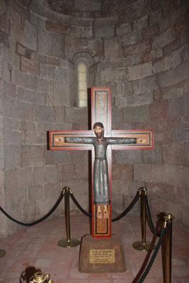 Kreuz im Kloster St.Joan de font