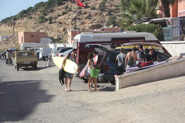 Surfer in Thagazoute