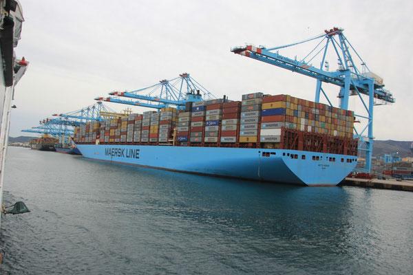 Containerhafen Algeceiras