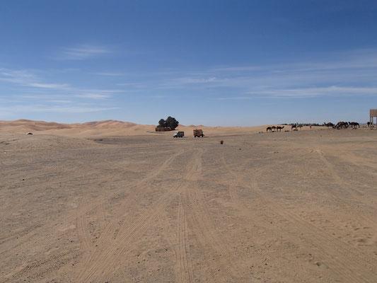 Oase wieder leer, Etoile le dune