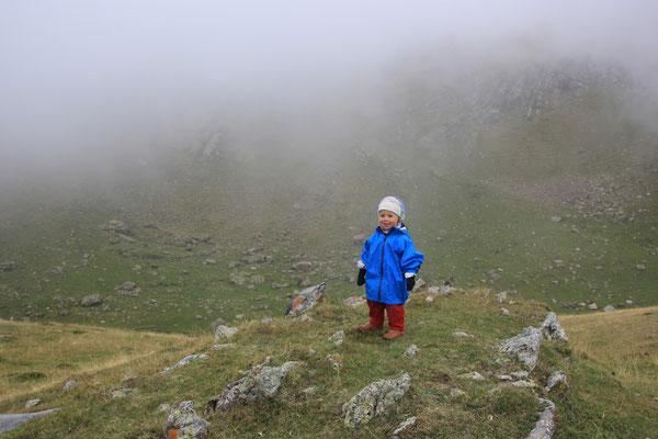 Sarah im Gebirge