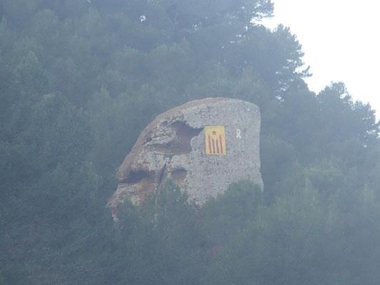 Katalonisches Freiheitssymbol