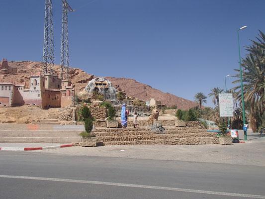 Ortsausgang Foum el Hassan