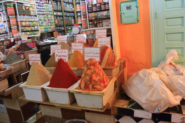 Lebensmittelsouk, Meknes