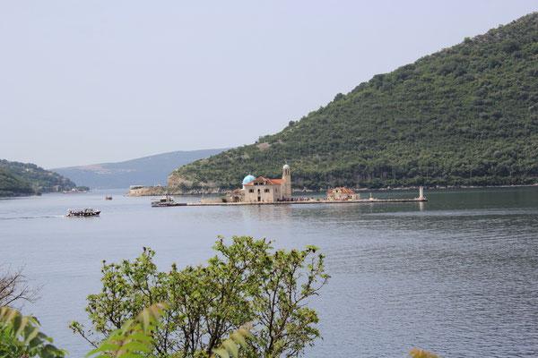 Klosterinsel Bucht von Kotor bei Perast