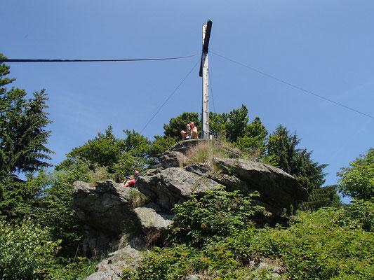 Gipfelbesteigung Drei Tannen Riegel
