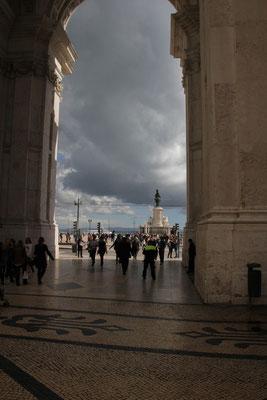 Triumphbogen, Promenade Lisabon