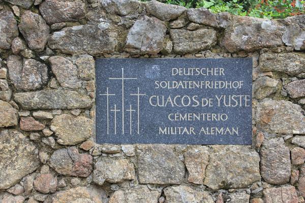 deutscher Soldatenfriedhof in Cuesco de Yuste