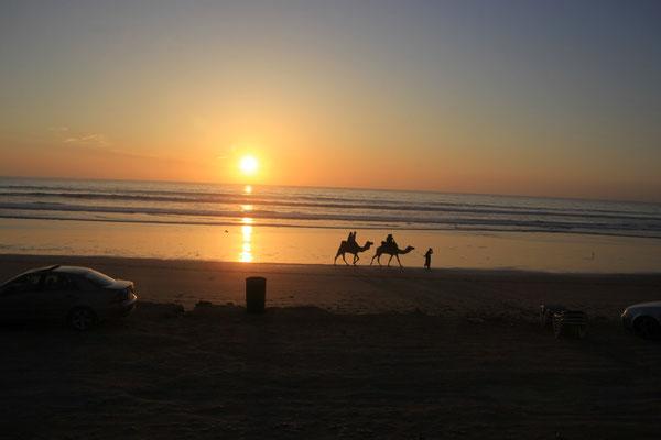 Sonnenuntergang, terre de ocean