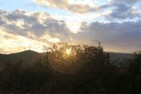 Sonnenuntergang in Ainsa