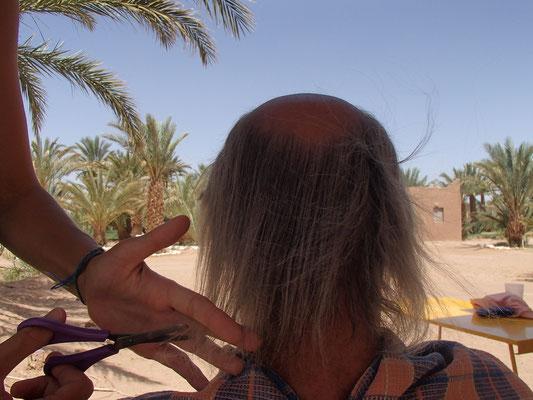beim Friseur