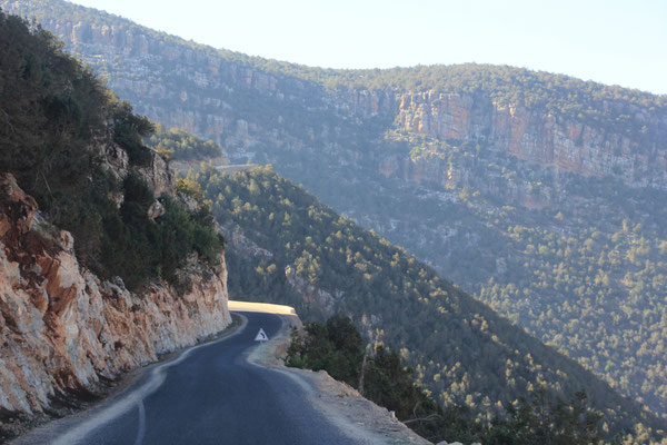 Fahrt nach Azilal Nähe Ouzoud zum Großeinkauf