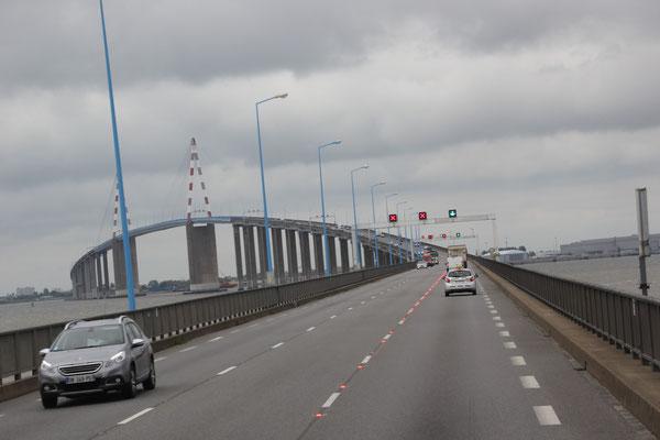 Brücke über die Loire bei San Nazaire