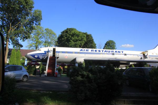 Flugzeugrestaurant Tschechien