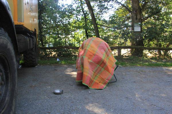 Schwitzhütte für Sarah