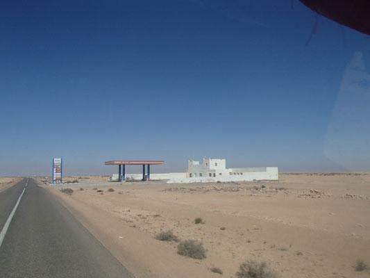 Tankstelle Westsahara Zollfreigebiet