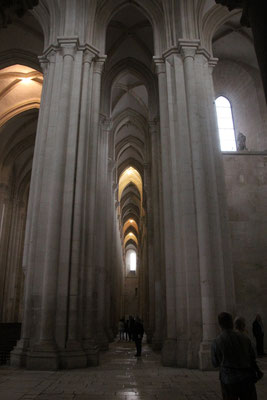 Alcobaca, Kircheninneres, 106 m lang