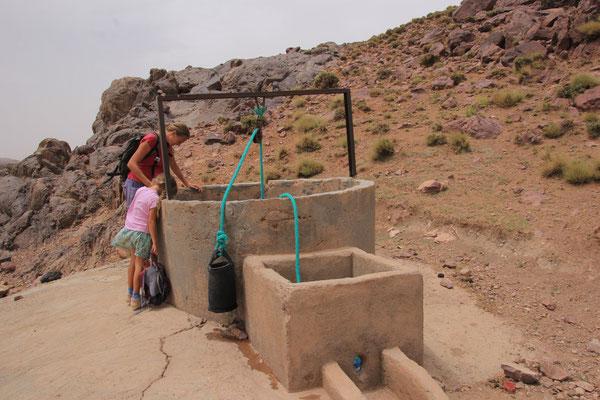 Brunnen auf 2200 m