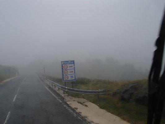 Frankreich im Nebel