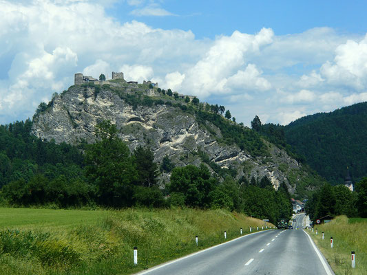 Fahrt durch Kärnten